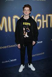 The Midnight Sun Premiere. 15 Mar 2018 Pictured: Thomas Barbusca. Photo credit: Jaxon / MEGA TheMegaAgency.com +1 888 505 6342