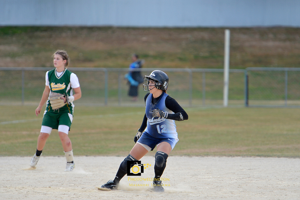 Open Womens Softball Club Championships at Fraser Park, Lower Hutt, New Zealand on Friday 15 March 2013.<br /> Photo by Masanori Udagawa www.photowellington.Photoshelter.com.