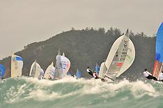 2011 - 5O5 WORLDS IN HAMILTON ISLAND - RACE 3 & 4