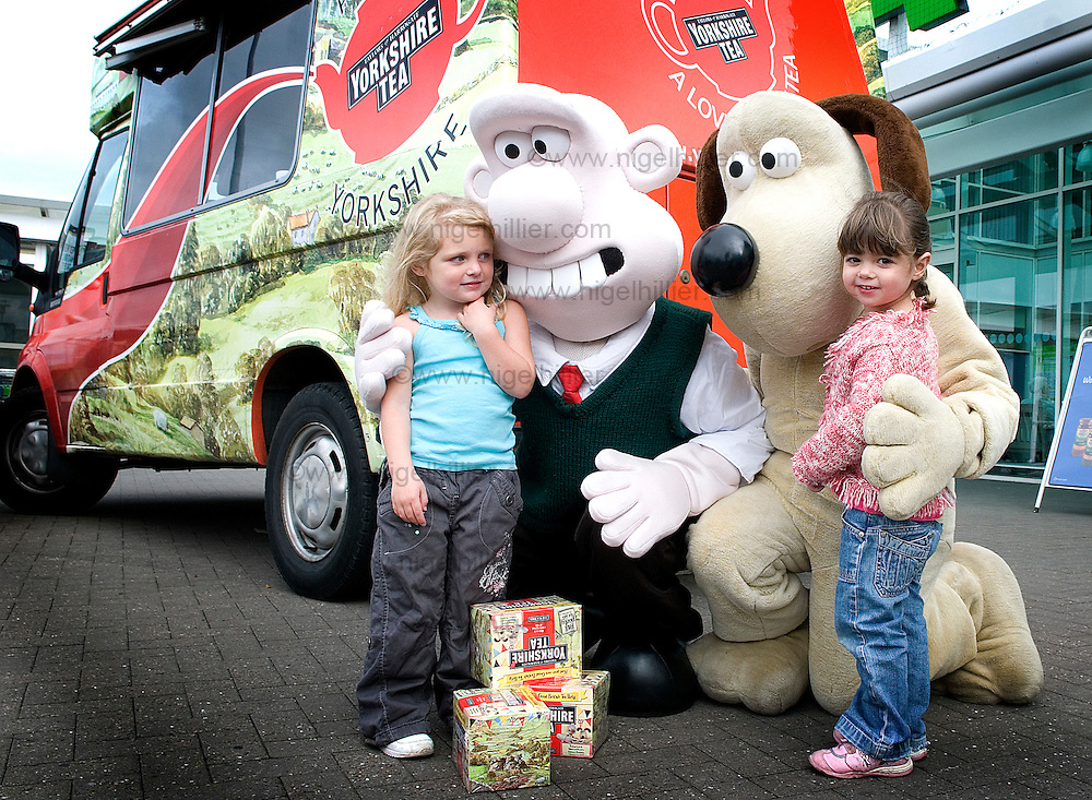 wallace and gromit at monks cross asda,york