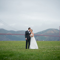 May 7, 2016 Danielle and Eric - San Francisco wedding portrait at Crissy Field in San Francisco San Francisco Wedding at the Golden Gate Club in the Presidio - Portraits at Crissy Field and the Woodlands