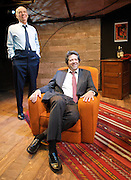 Danger: Memory!<br /> byArthur Miller<br /> at The Jermyn Street Theatre, London, Great Britain <br /> press photocall<br /> 29th June 2011 <br /> <br /> Roger Sloman <br /> Rolf Saxon<br /> <br /> directed by Ed Viney <br /> <br /> <br /> Photograph by Elliott Franks