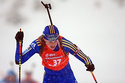 Helena Jonsson (SWE) at Women 15 km Individual at E.ON Ruhrgas IBU World Cup Biathlon in Hochfilzen (replacement Pokljuka), on December 18, 2008, in Hochfilzen, Austria. (Photo by Vid Ponikvar / Sportida)