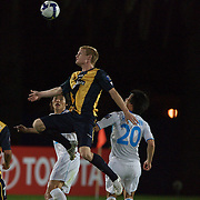 Matt Simon in action during the group H group stage match between the Central Coast Mariners of Australia and Pohang Steelers of Korea in Gosford, Australia on March 11 2009, The match ended in a 0-0 draw. Photo Tim Clayton