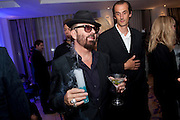 Dave Stewart, Piccadilly theatre's Ghost The Musical Opening night party. Corinthia Hotel. Whitehall Place. London. 19 July 2011. <br /> <br />  , -DO NOT ARCHIVE-© Copyright Photograph by Dafydd Jones. 248 Clapham Rd. London SW9 0PZ. Tel 0207 820 0771. www.dafjones.com.