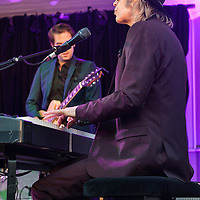 The Waterboys in concert at The Kelvingrove Bandstand, Kelvingrove Park, Glasgow, Scotland, Britain, 8th August 2016