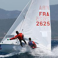Voile Olympique. Semaine pré-olympique de Hyères. Classe 470
