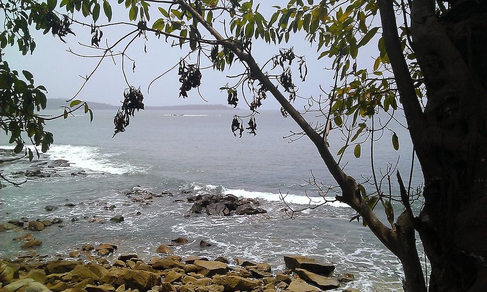 beautiful beach on treasure island