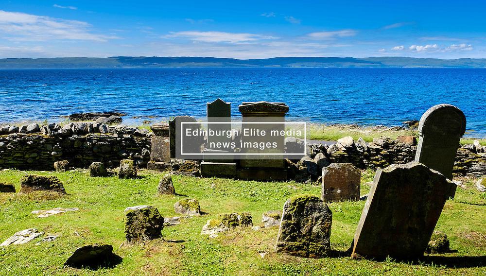 A tiny old graveyard on the west coast of Arran, Scotland<br /> <br /> (c) Andrew Wilson | Edinburgh Elite media