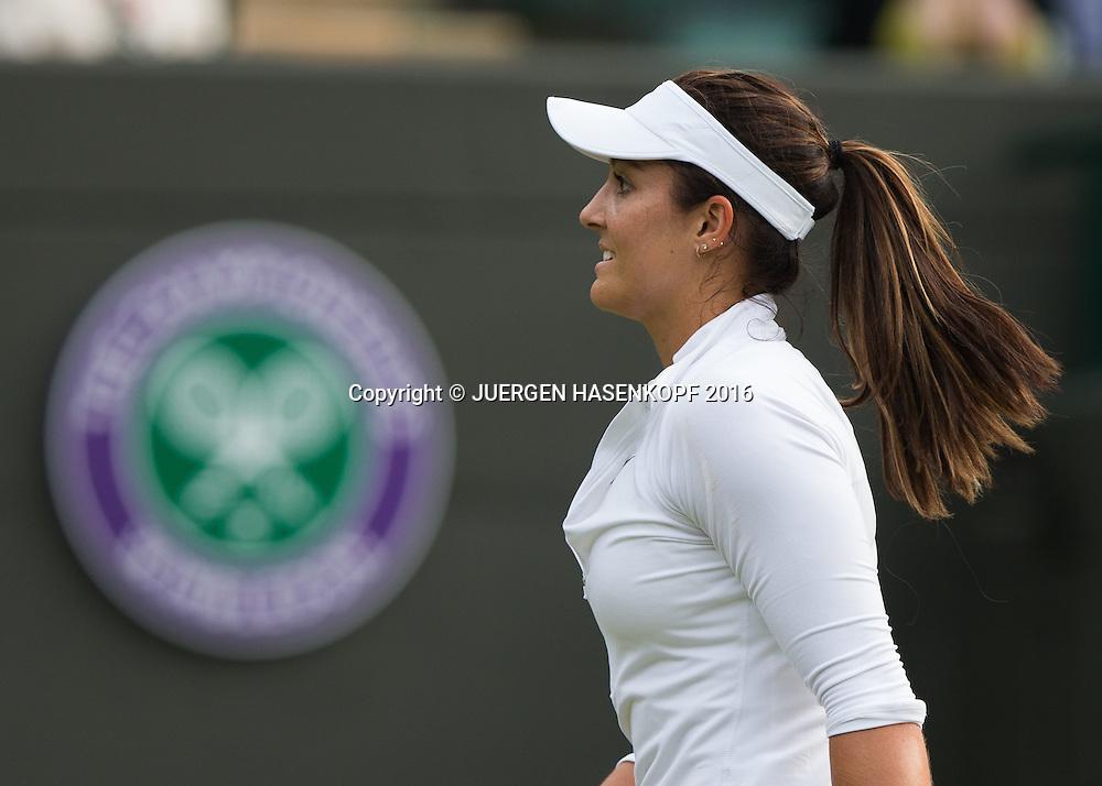 Laura Robson (GBR)<br /> <br /> Tennis - Wimbledon 2016 - Grand Slam ITF / ATP / WTA -  AELTC - London -  - Great Britain  - 27 June 2016.