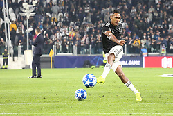 November 7, 2018 - Turin, Piedmont, Italy - Alex Sandro (Juventus FC) during the UEFA Champions League match between Juventus FC and Manchester United FC,  at Allianz Stadium on November 07, 2018 in Turin, Italy..Juventus FC lost 1-2 against Manchester United. (Credit Image: © Massimiliano Ferraro/NurPhoto via ZUMA Press)