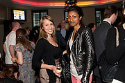 NATHALIE STEMPSON; SHINI SOMARA, Streetsmart Reception to celebrate the 2010 campaign at which voluntary £1 was  added to the table bill at the end of a meal at participating restaurants raising £460,000. Groucho club. Dean St. London. 18 April 2011. -DO NOT ARCHIVE-© Copyright Photograph by Dafydd Jones. 248 Clapham Rd. London SW9 0PZ. Tel 0207 820 0771. www.dafjones.com.