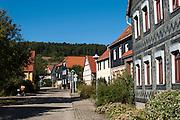Rundlingsdorf Tiefengruben, Thüringen, Deutschland | round village Tiefengruben, Thuringia, Germany