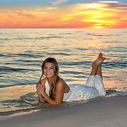 Reilly Senior Beach Photos