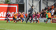 J-League kids take the crowds appease at half time - Dundee United v Dundee at Tannadice Park in the SPFL Premiership<br /> <br />  - © David Young - www.davidyoungphoto.co.uk - email: davidyoungphoto@gmail.com