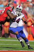 Buffalo Bills defensive end Mario Williams (94) during the Tampa Bay Buccaneers 27-6 win over the Bills at Raymond James Stadium on Dec. 8, 2013   in Tampa, Florida.        ©2013 Scott A. Miller
