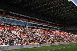 February 23, 2019 - Sheffield, England, United Kingdom - Full stadium with supporters of Arsenal and Manchester City..during the FA Women's Continental League Cup Final football match between Arsenal Women and Manchester City Women at Bramall Lane on February 23, 2019 in Sheffield, England. (Credit Image: © Action Foto Sport/NurPhoto via ZUMA Press)