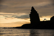 Pinnacle Rock<br /> Bartolome Island<br /> Galapagos<br /> Ecuador, South America