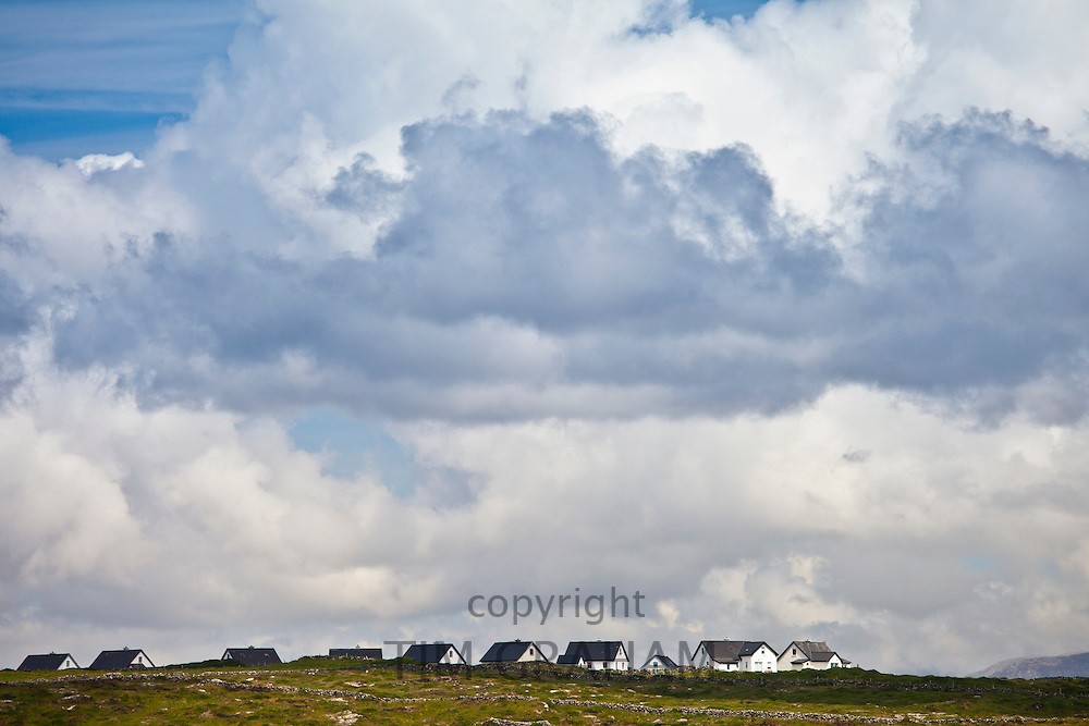 New housing in Connemara, County Galway