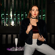 Chloe Adlerstein attend Bachelor girls wrap party after Channel 5 serial of The Bachelor girls 2019 UK  17 desperate female complete to win Alex Marks. Five Eliminated girls continues enjoy the single life party at Balle Ballerson in fact, in the UK there are 1.1 millions female more than male on 27 March 2019, London, UK.