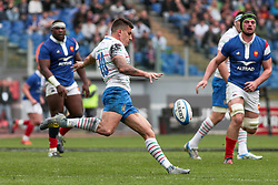 March 16, 2019 - Rome, Rome, Italy - Tommaso Allan during the Guinness Six Nations match between Italy and France at Stadio Olimpico on March 16, 2019 in Rome, Italy. (Credit Image: © Emmanuele Ciancaglini/NurPhoto via ZUMA Press)