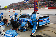 May 10, 2013: NASCAR Southern 500. Aric Almirola, Ford , pitstop , Jamey Price / Getty Images 2013 (NOT AVAILABLE FOR EDITORIAL OR COMMERCIAL USE