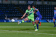 Goal...Norwich City forward Jordan Rhodes (11), on loan from Sheffield Wednesday, scores his hatrick during the EFL Cup match between Wycombe Wanderers and Norwich City at Adams Park, High Wycombe, England on 25 September 2018.