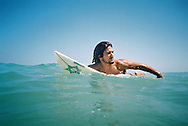 Lior Barda surfing his last surf in Gush-Ktife.