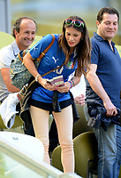 "Carolina CASSANO (Italia)<br /> Danzica 10/06/2012  ""GDANSK ARENA""<br /> Football calcio Europeo 2012  Spagna Vs Italia <br /> Football Calcio Euro 2012<br /> Foto Insidefoto Alessandro Sabattini"