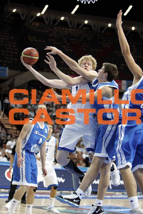 DESCRIZIONE : Katowice Poland Polonia Eurobasket Men 2009 Champion U18 All Star Game Team<br /> GIOCATORE : Philipp Neumann<br /> SQUADRA : white team<br /> EVENTO : Eurobasket Men 2009<br /> GARA : Champion U18 All Star Game<br /> DATA : 18/09/2009 <br /> CATEGORIA : <br /> SPORT : Pallacanestro <br /> AUTORE : Agenzia Ciamillo-Castoria/H.Bellenger<br /> Galleria : Eurobasket Men 2009 <br /> Fotonotizia : Katowice Poland Polonia Eurobasket Men 2009 Champion U18 All Star Game Team<br /> Predefinita :