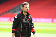 AFC Bournemouth assistant manager Jason Tindall before the Premier League match between Bournemouth and Burnley at the Vitality Stadium, Bournemouth, England on 13 May 2017. Photo by Graham Hunt.