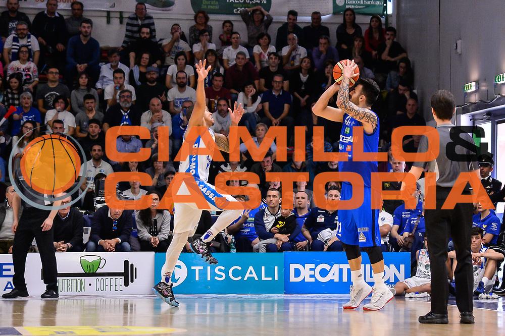 Brian Sacchetti<br /> Banco di Sardegna Dinamo Sassari - Germani Basket Leonessa Brescia<br /> Legabasket Serie A LBA PosteMobile 2017/2018<br /> Sassari, 08/04/2018<br /> Foto L.Canu / Ciamillo-Castoria