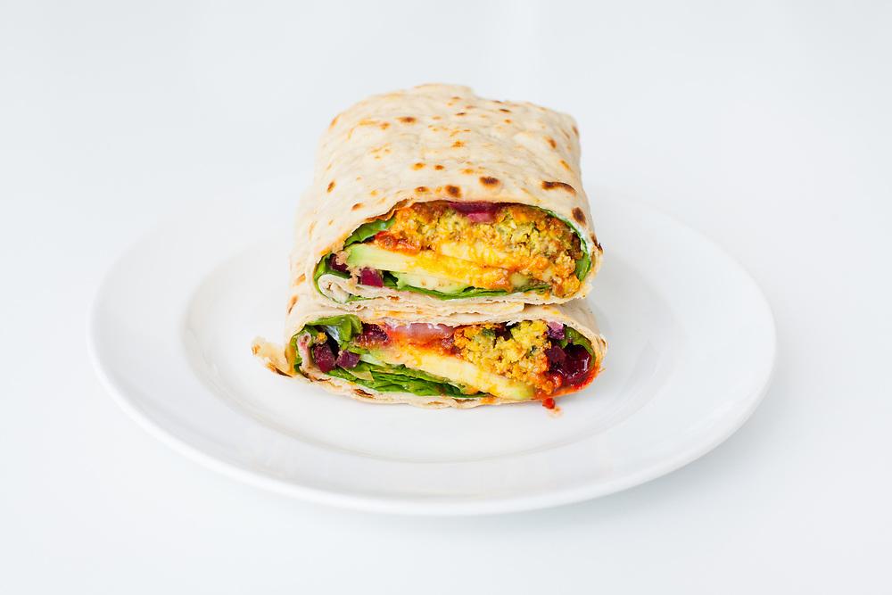 Falafel Flatbread Sandwich from Pret ($7.49)