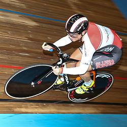 27-12-2014: Wielrennen: NK Baanwielrennen: Apeldoorn zilver voor Shanne Braspennicx op de 500meter