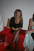 Linda Kiraly.  Andy & Patti Wong's Chinese New Year party to celebrate the year of the Rooster held at the Great Eastern Hotel, Liverpool Street, London.29th January 2005. The theme was a night of hedonism in 1920's Shanghai. . ONE TIME USE ONLY - DO NOT ARCHIVE  © Copyright Photograph by Dafydd Jones 66 Stockwell Park Rd. London SW9 0DA Tel 020 7733 0108 www.dafjones.com