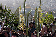 Palm Sunday at the Church of the Holy Sepulchre, Old city, Jerusalem, Israel