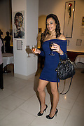 ANTONELLE ALEXIS; MISS PLANET BEACH UK. Macmillan De'Longhi Art Auction in aid of Macmillan Cancer Support. Avenue. St. James's. London. 23 September 2008. *** Local Caption *** -DO NOT ARCHIVE-© Copyright Photograph by Dafydd Jones. 248 Clapham Rd. London SW9 0PZ. Tel 0207 820 0771. www.dafjones.com.