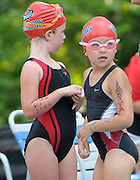 The Briarcliff Woods Beach Club Barracudas swim team competes against Venetian on Tuesday, June 3, 2013 in Atlanta. (David Tulis/dtulis@gmail.com)