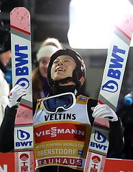 30.12.2018, Schattenbergschanze, Oberstdorf, GER, FIS Weltcup Skisprung, Vierschanzentournee, Oberstdorf, Siegerehrung, im Bild Ryoyu Kobayashi (JPN) // Ryoyu Kobayashi (JPN) during the winner Ceremony for the Four Hills Tournament of FIS Ski Jumping World Cup at the Schattenbergschanze in Oberstdorf, Germany on 2018/12/30. EXPA Pictures © 2018, PhotoCredit: EXPA/ SM<br /> <br /> *****ATTENTION - OUT of GER*****