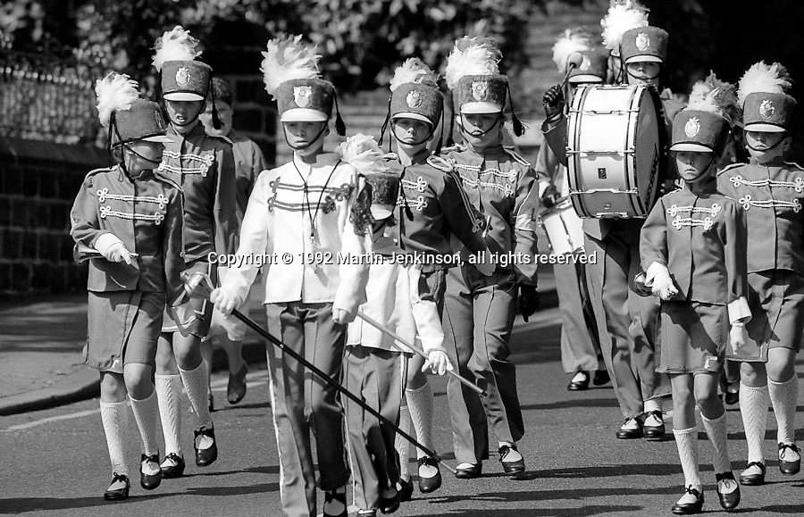 Jazz Bands, 1992 Yorkshire Miners Gala, Barnsley.