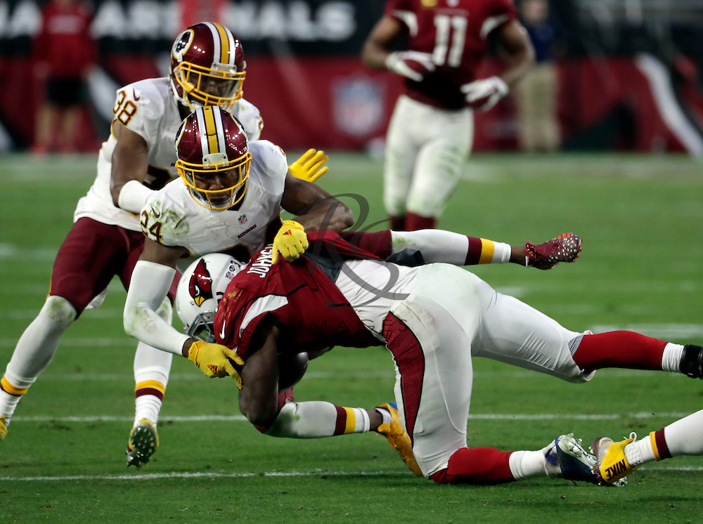 Washington Redskins cornerback Josh Norman (24) during an NFL football game against the Arizona Cardinals, Sunday, Dec. 4, 2016, in Glendale, Ariz. (AP Photo/Rick Scuteri)