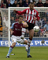 Picture: Henry Browne, Digitalsport<br /> NORWAY ONLY<br /> <br /> Date: 08/05/2004.<br /> Southampton v Aston Villa FA Barclaycard Premiership.<br /> <br /> Ronny Johnsen covers Kevin Phillips.