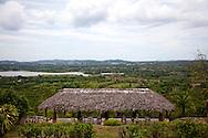 Palenque at Villa Mirador de Mayabe, Holguin, Cuba.