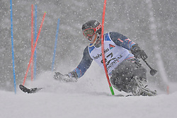 ELLIOTT Josh LW12-2 USA at 2018 World Para Alpine Skiing World Cup slalom, Veysonnaz, Switzerland