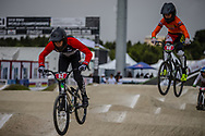 Cruiser - 13 & 14 Men #63 (ROBLES Flavio) FRA at the 2018 UCI BMX World Championships in Baku, Azerbaijan.