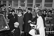 25/08/1963<br /> 08/25/1963<br /> 25 August 1963<br /> Royal Visit by Prince Rainier and Princess Grace of Monaco. The Royal family arrive at Dublin Airport. Princess Grace and Prince Albert are escorted past exited onlookers to their car, which was provided by Murrays Rent-aCar at Dublin Airport.