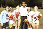 FIU Women's Soccer Senior Night 2013