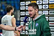 Gianmarco Pozzecco<br /> Banco di Sardegna Dinamo Sassari - Happycasa Brindisi<br /> Quarti di finale<br /> LBA Legabasket Serie A Final 8 Coppa Italia 2019-2020<br /> Pesaro, 14/02/2020<br /> Foto L.Canu / Ciamillo-Castoria