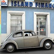 Volkswagen Beetle in a street in Rio Grande, Puerto Rico..Photo/Angel Valentin