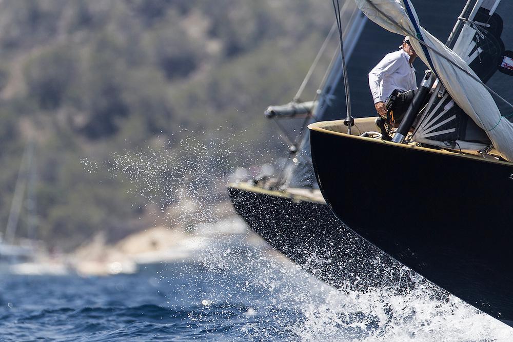 SPAIN, Palma. 22nd June 2013. Superyacht Cup. Race Four, Coastal Race. Lionheart.